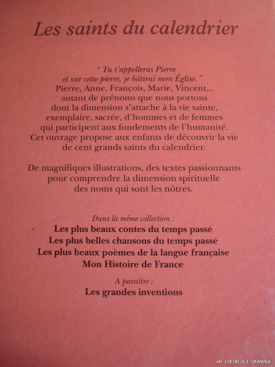 Pierre Seigneur Les Saints Du Calendrier 1996